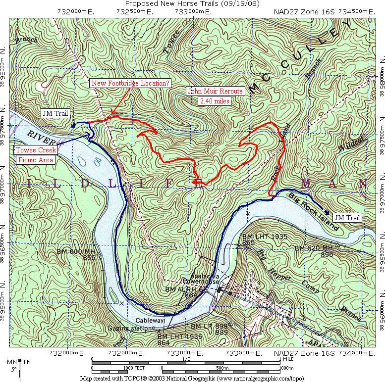 Benton MacKaye Trail Section 13  John Muir Trail